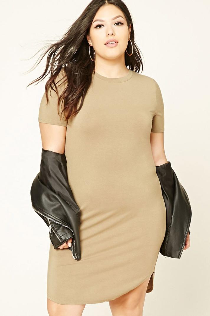 plus-size-bodycon-shirt-dress