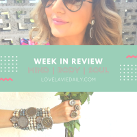 Week In Review: Tightening, Rightening, and Reading!