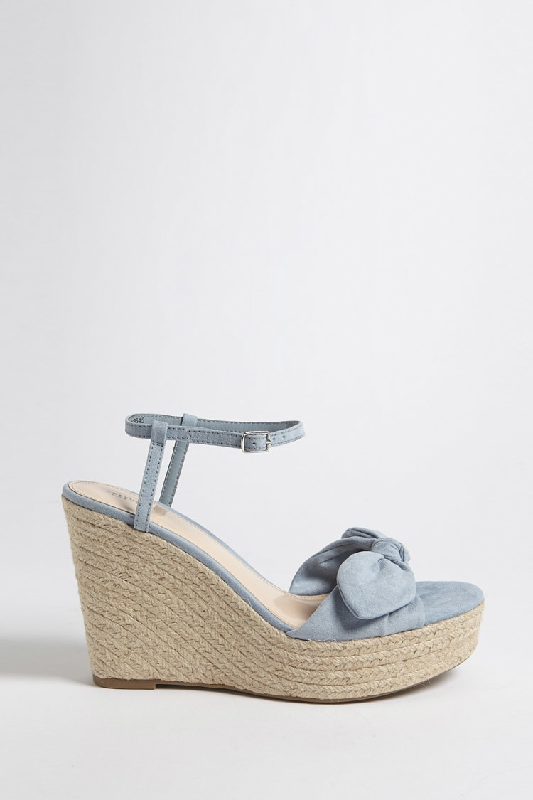 PERFECT BLUE WEDGE