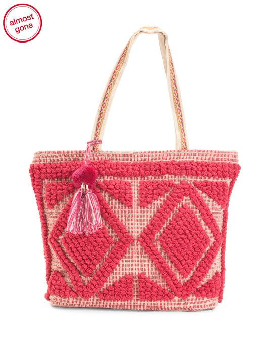 TJ Maxx Straw Pink
